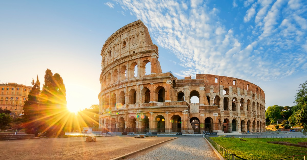 View of Colosseum in Rome | Freedom Park DFW